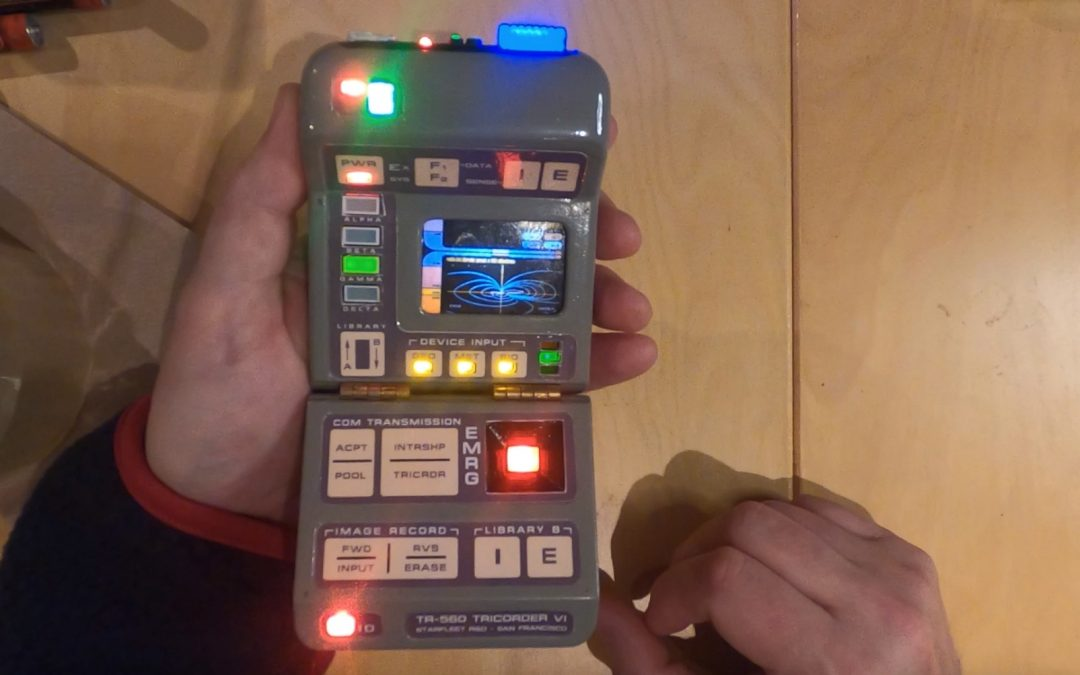 TNG Tricorder Sneak Peek