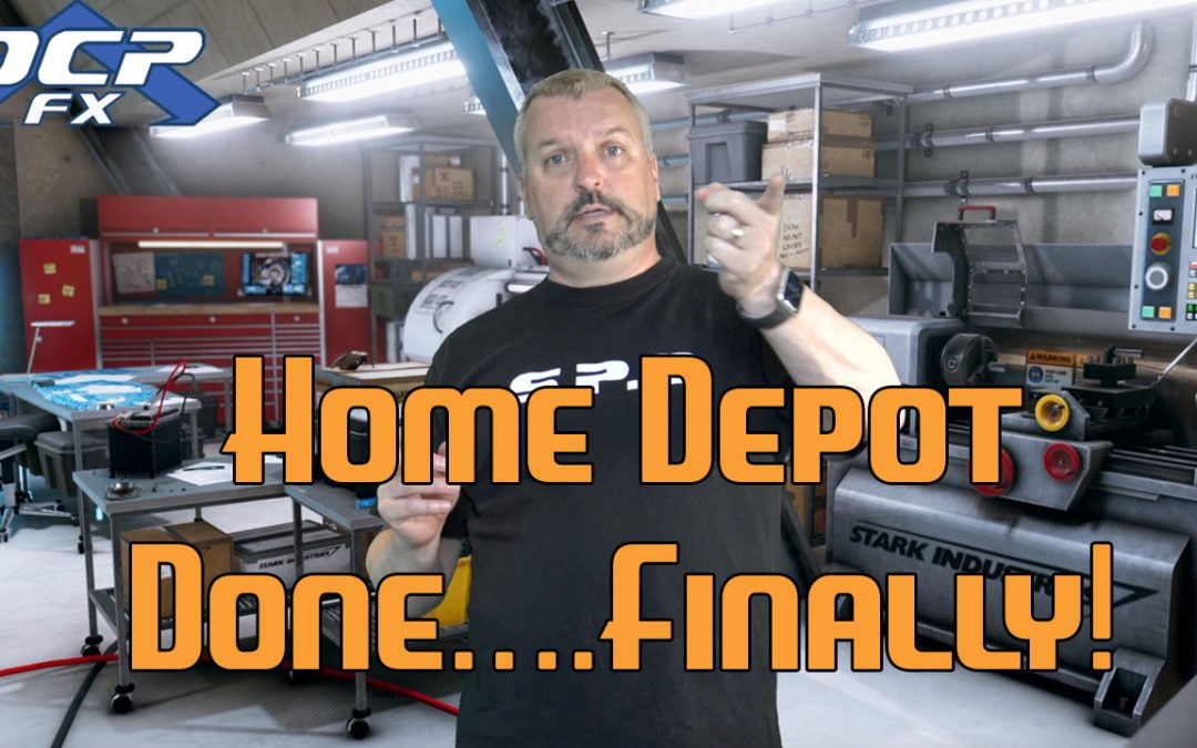 Home Depot, Done, Finally