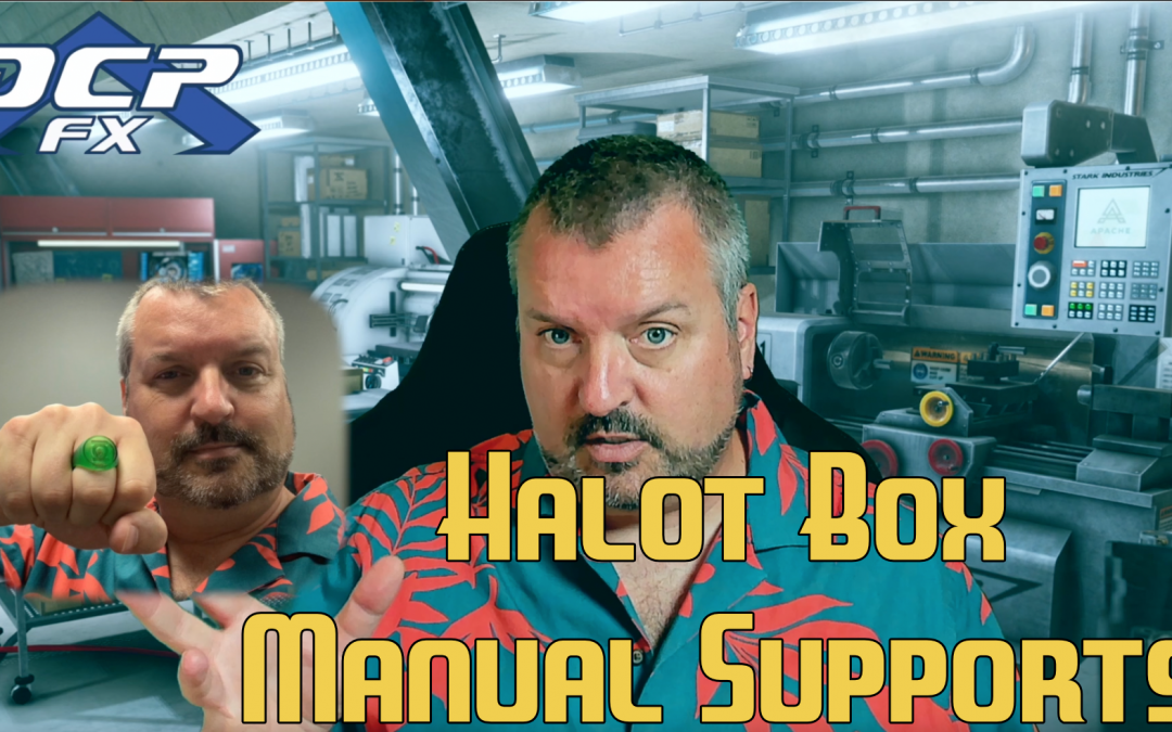 Manual Supports in Halot Box