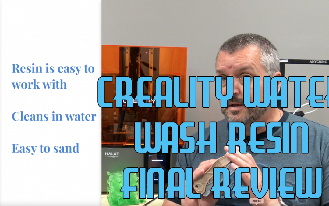 Creality Water Wash Resin Final Review